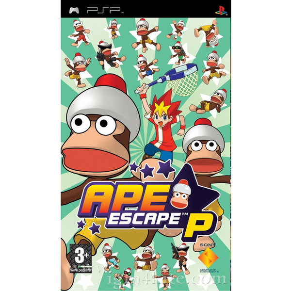 Игра за PSP  3+ Ape Escape P