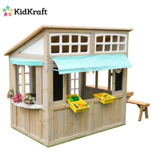 KidKraft Детска дървена къща Meadowlane Market 00200
