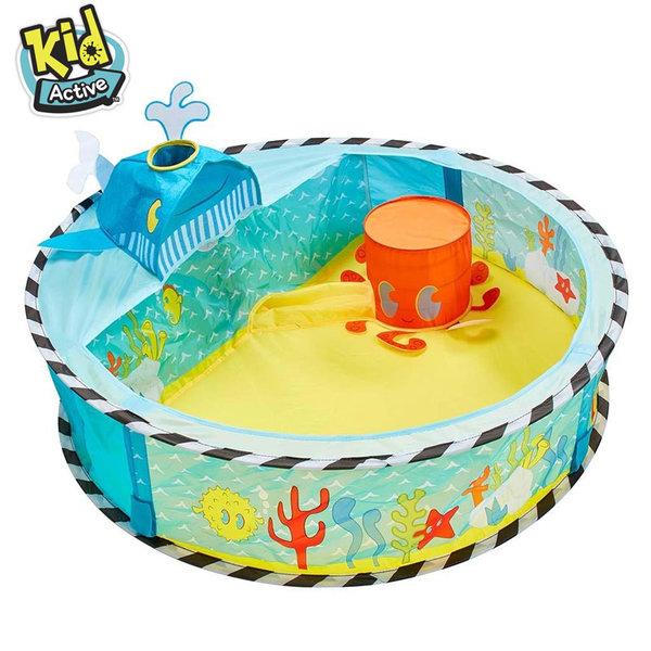 Kid Active Бебешко Pop Up басейнче с изкачащи топки Undersea 115084