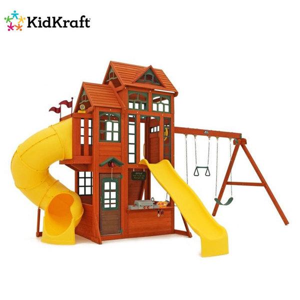 KidKraft Детски дървен център за игра Canyon Ridge 25715