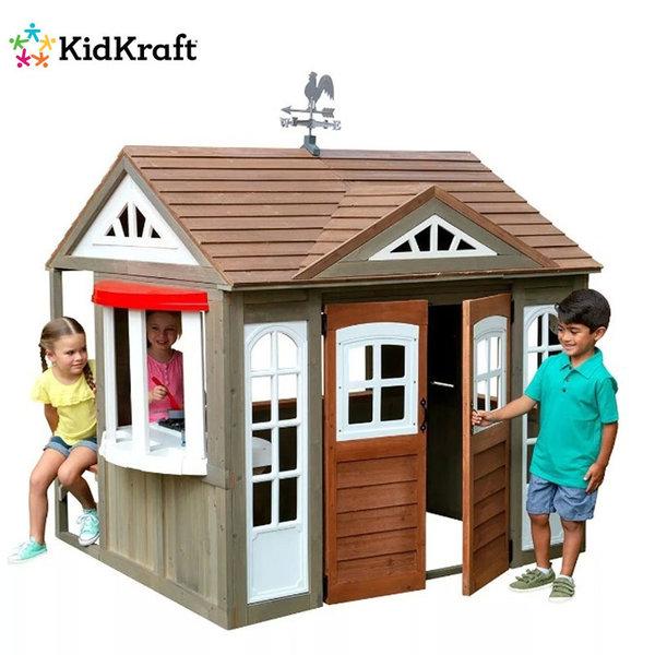 KidKraft Детска дървена къща Country Vista 280097