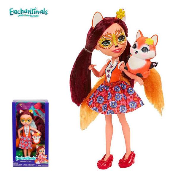 Enchantimals Пазители на гората Кукла Felicity Fox 30 см FRH51