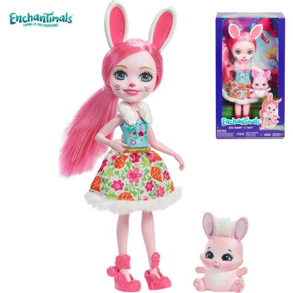 Enchantimals Пазители на гората Кукла Bree Bunni 30 см FRH51