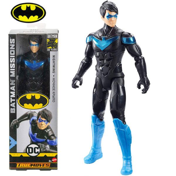 Batman Missions True Moves Екшън фигура Батман 30см Nightwing GCK90