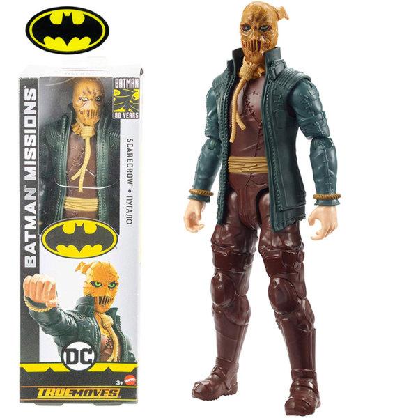 Batman Missions True Moves Екшън фигура 30см Scarecrow GCK89