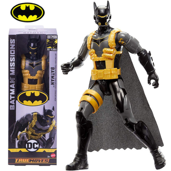 Batman Missions True Moves Екшън фигура 30см Батман Toxina Antimiedo GCK88