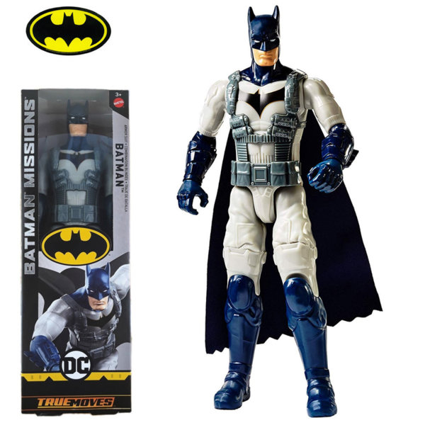 Batman Missions True Moves Екшън фигура 30см Батман Armour Suit FVM75
