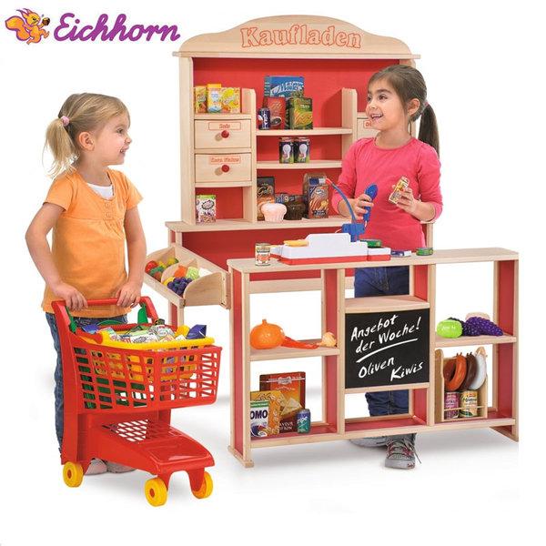 Eichhorn Детски дървен магазин 2556