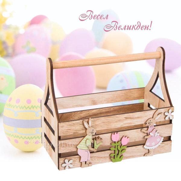 Великденска украса Великденска кошница 163494
