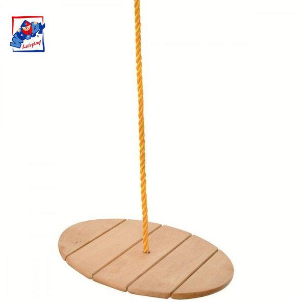 Woody Детска дървена люлка Маймунка 90125