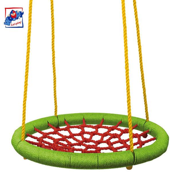 Woody Детска кръгла люлка 83 см 91412