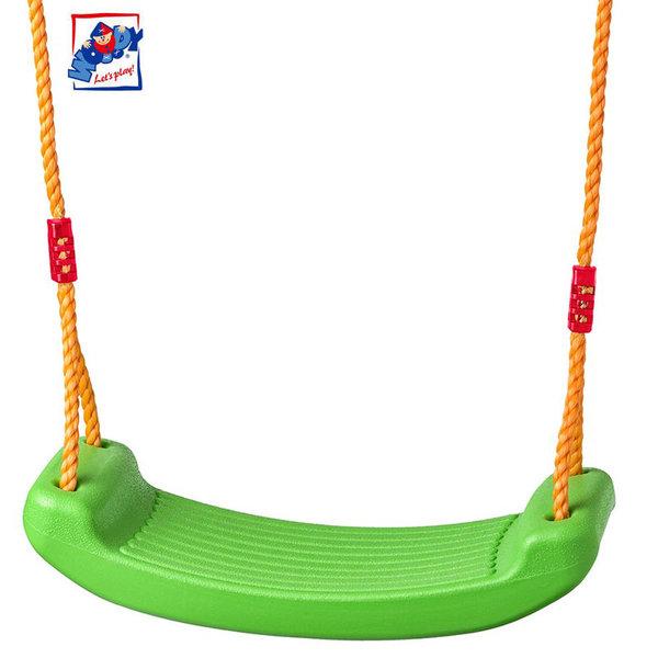 Woody Детска пластмасова люлка зелена 91951