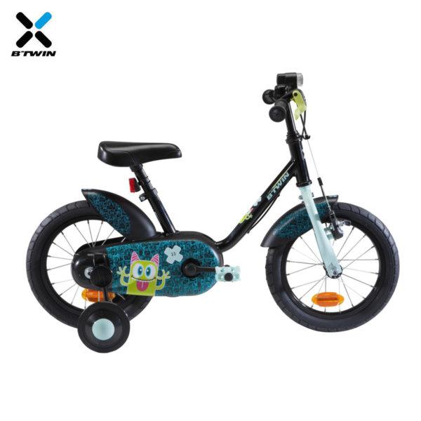 "B'TWIN Детски велосипед Monsters 14"" 742174"