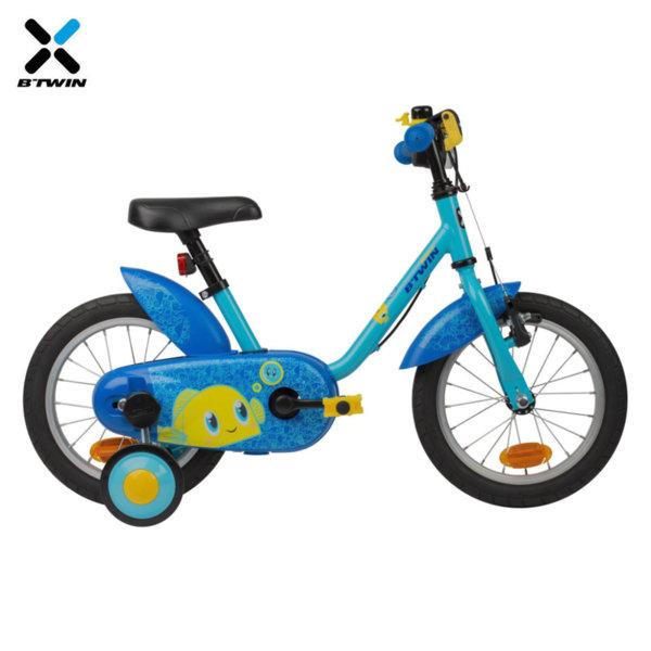 "B'TWIN Детски велосипед Ocean 14"" 809174"