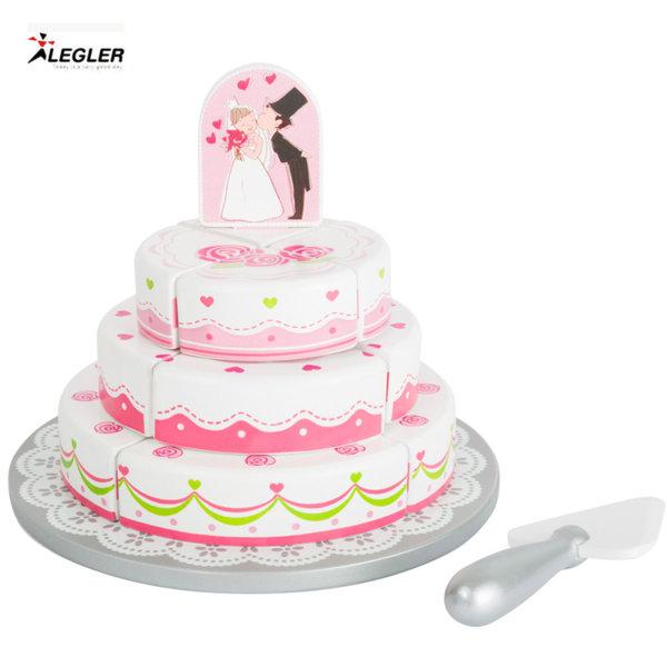 Legler Детска дървена сватбена торта 11185