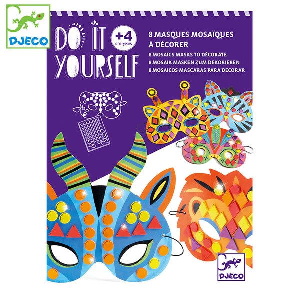 Djeco Направи си маски Jungle animals DJ07900