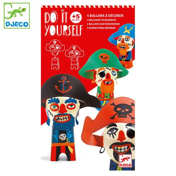 Djeco Балони за декорация Смешни пирати DJ07911