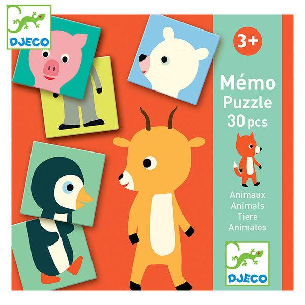 Djeco Детска игра Memo animo puzzle DJ08126