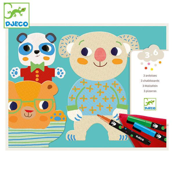 Djeco Детски комплект за рисуване The cuties DJ08992