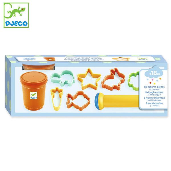 Djeco Комплект пластилин и 8 формички DJ09022