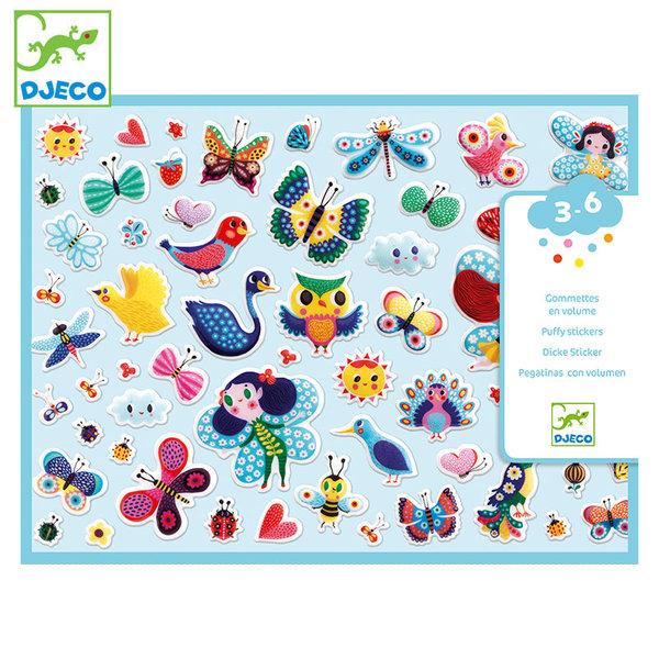 Djeco Детски стикери Little wings DJ09083