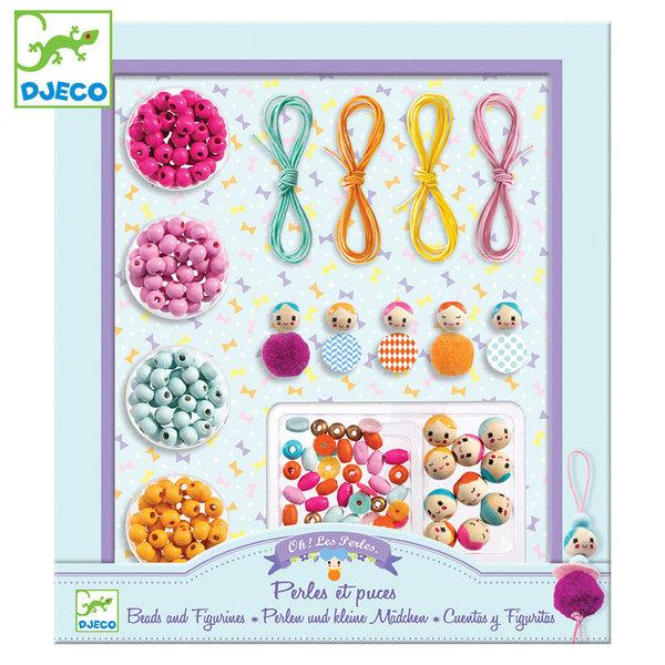 Djeco Направи бижута Beads and Figurines DJ09819