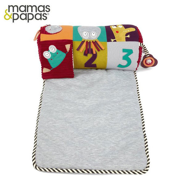 Mamas & Papas Активно килимче с възглавничка Tummy Time Rug 755882788
