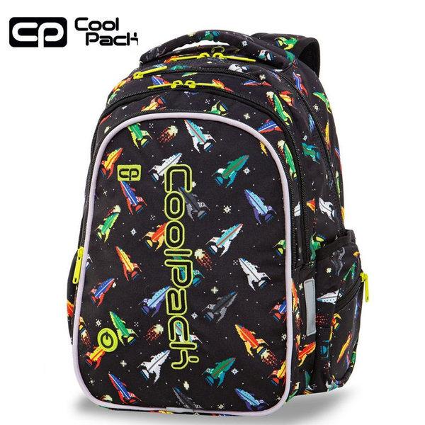 Cool Pack Joy LED Ученическа светеща раница Rockets A20207