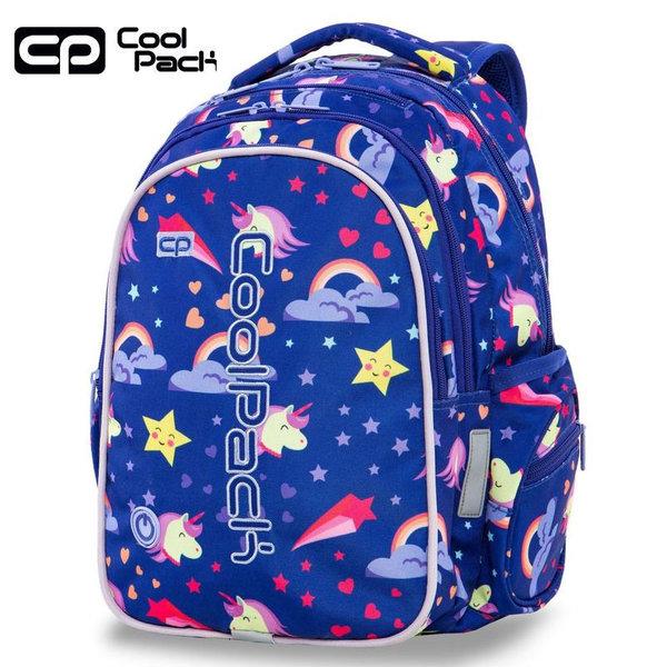Cool Pack Joy LED Ученическа светеща раница Unicorns A20208