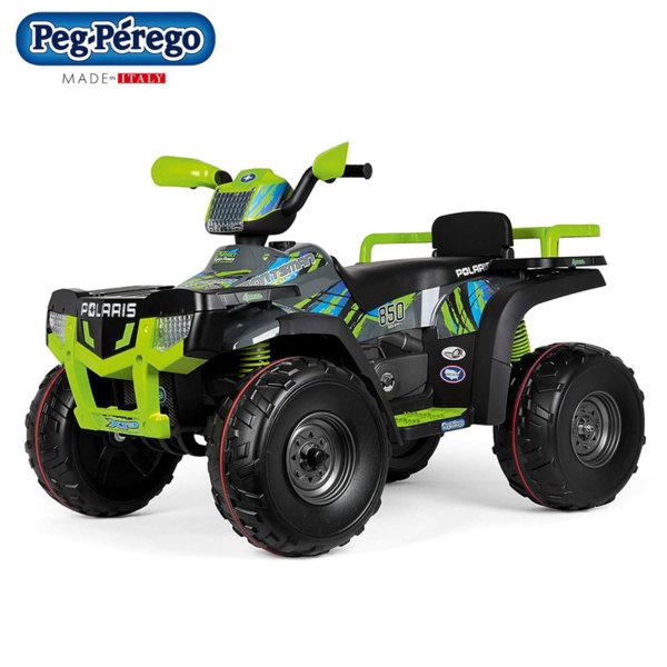 Peg Perego Джип с акумулатор 24V Polaris Sportsman 850 Lime
