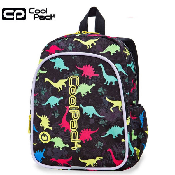 Cool Pack Bobby LED Раница за детска градина светеща Dinosaurs 23204