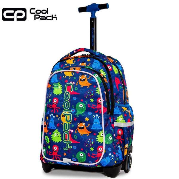 Cool Pack Junior LED Ученическа раница тролей светеща Funny Monsters 28206