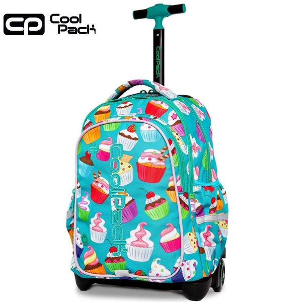 Cool Pack Junior LED Ученическа раница тролей светеща Cupcake 28203