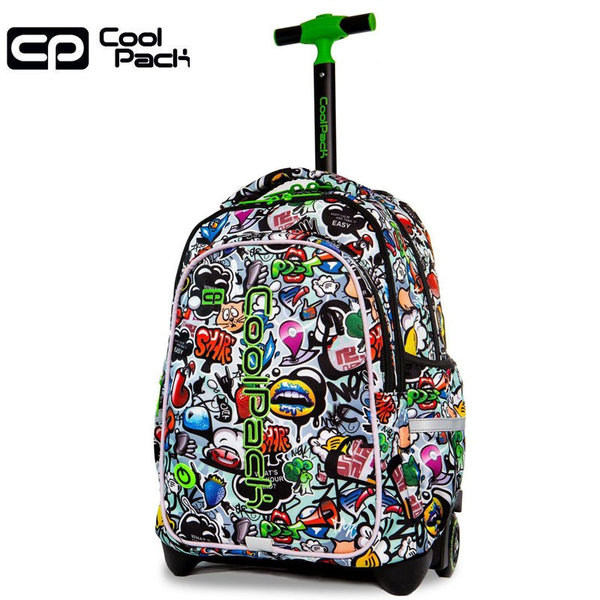 Cool Pack Junior LED Ученическа раница тролей светеща Graffiti 28201