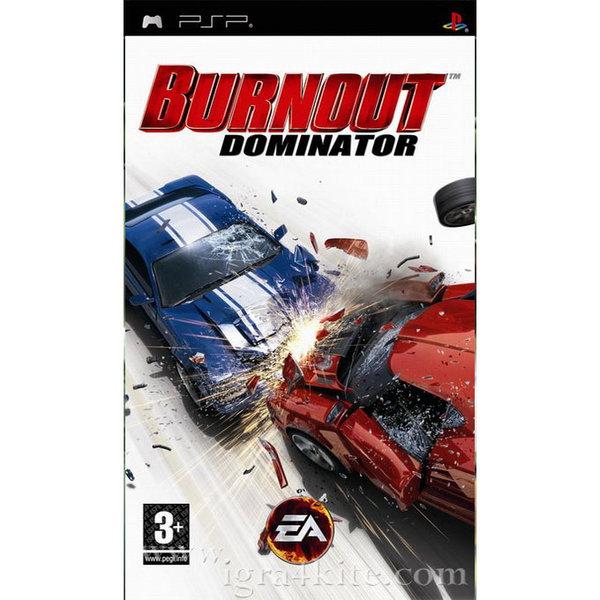 Игра за PSP  3+ Burnout Dominator - Platinum