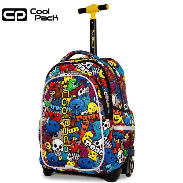 Cool Pack Junior LED Ученическа раница тролей светеща Cartoon 28200