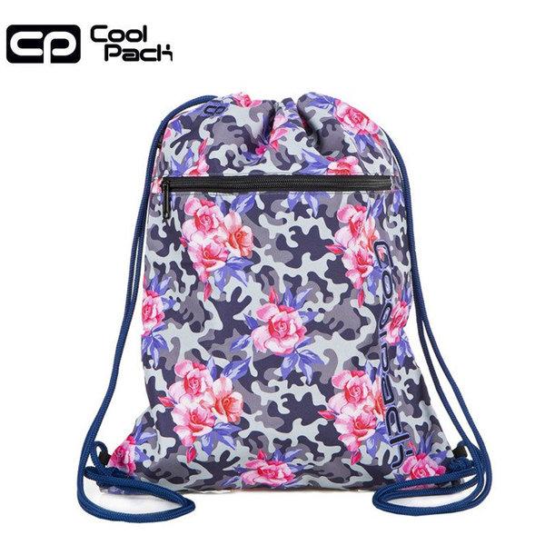 Cool Pack Vert Спортна торба с цип Camo roses A70209