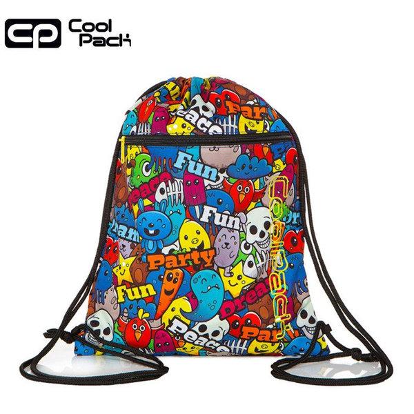 Cool Pack Vert Спортна торба с цип Cartoon A70200