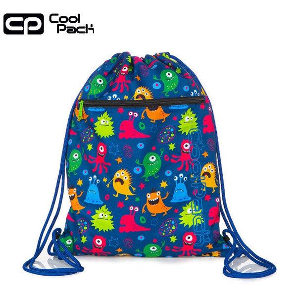 Cool Pack Vert Спортна торба с цип Funny Monsters A70206