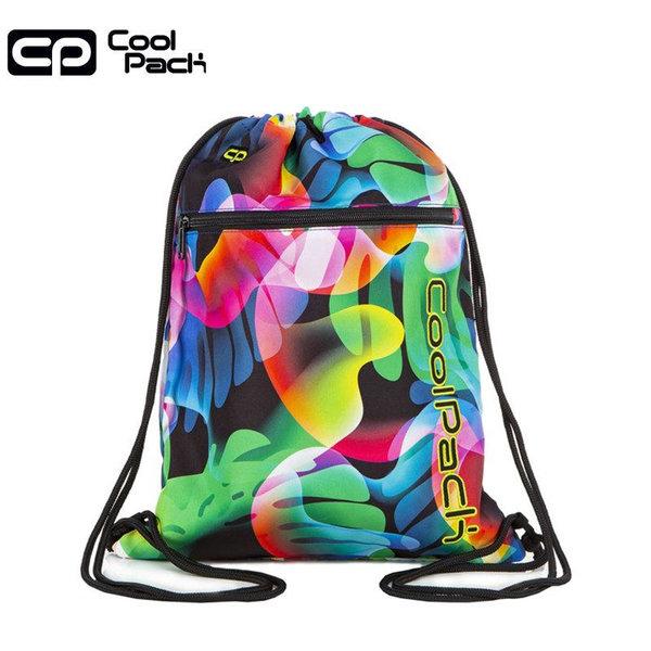 Cool Pack Vert Спортна торба с цип Rainbow leaves A70210