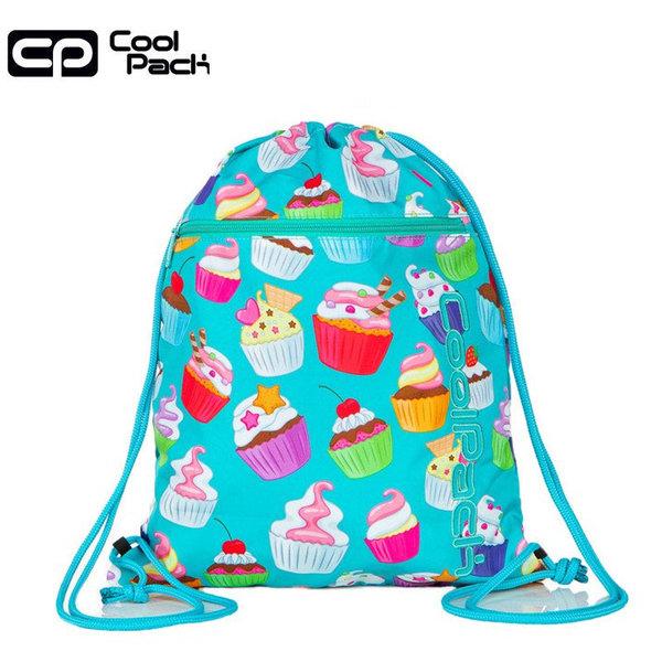 Cool Pack Vert Спортна торба с цип Cupcakes A70203