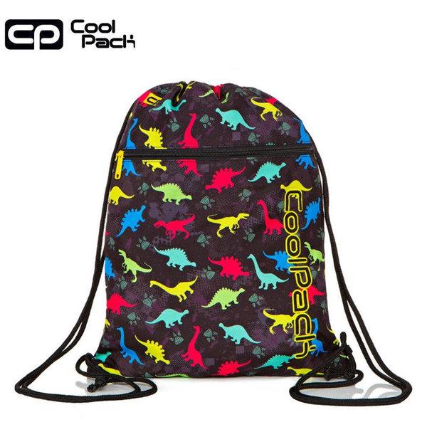 Cool Pack Vert Спортна торба с цип Dinosaurs A70204