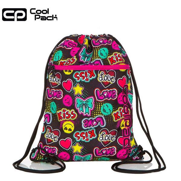 Cool Pack Vert Спортна торба с цип Emoticons A70205