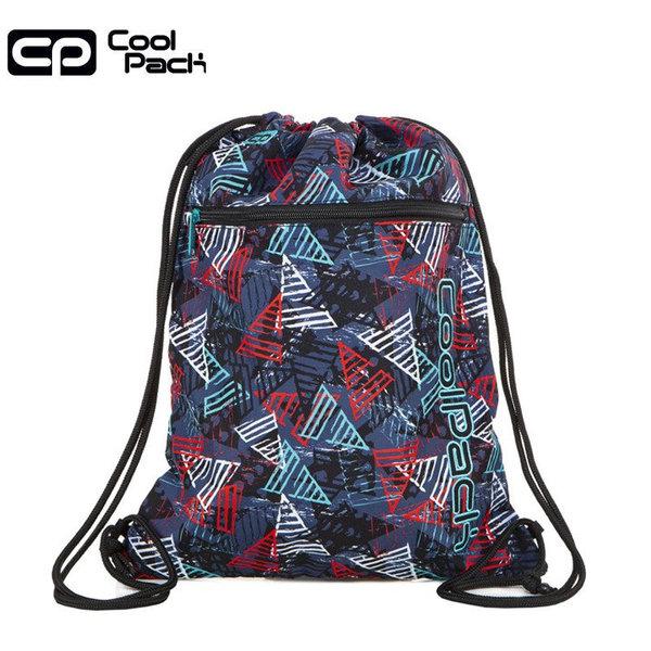 Cool Pack Vert Спортна торба с цип Triangles A70212