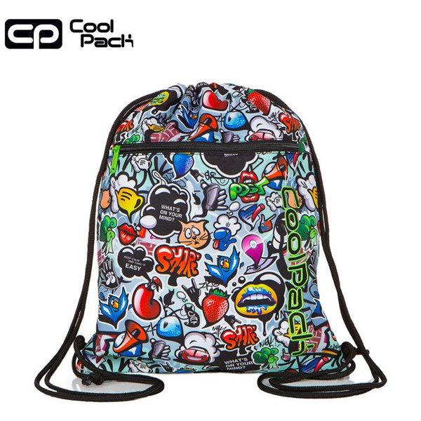 Cool Pack Vert Спортна торба с цип Graffiti A70201