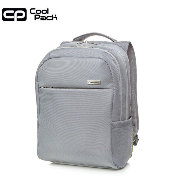Cool Pack Might Бизнес раница Light grey 41107