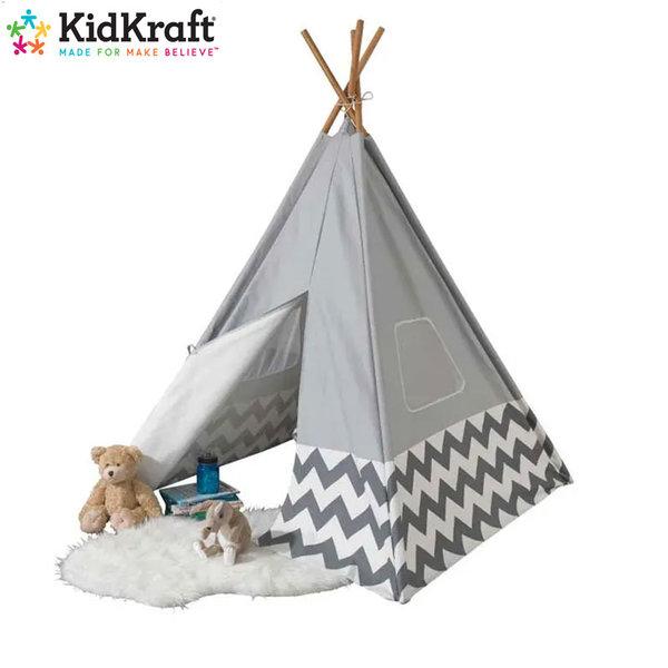 KidKraft - Детска палатка Deluxe Gray 00229