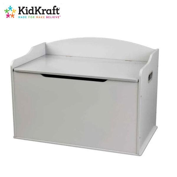 KidKraft Детски дървен сандък за играчки Grey Fog 14968