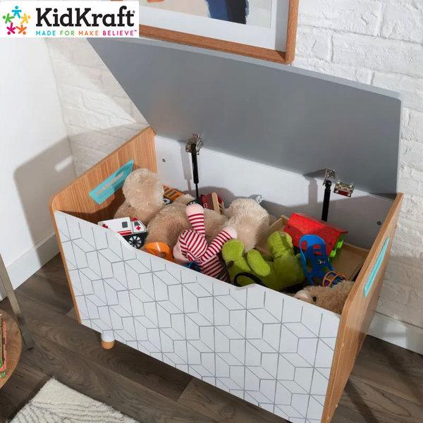 KidKraft Детски дървен сандък за играчки Mid Century 14975