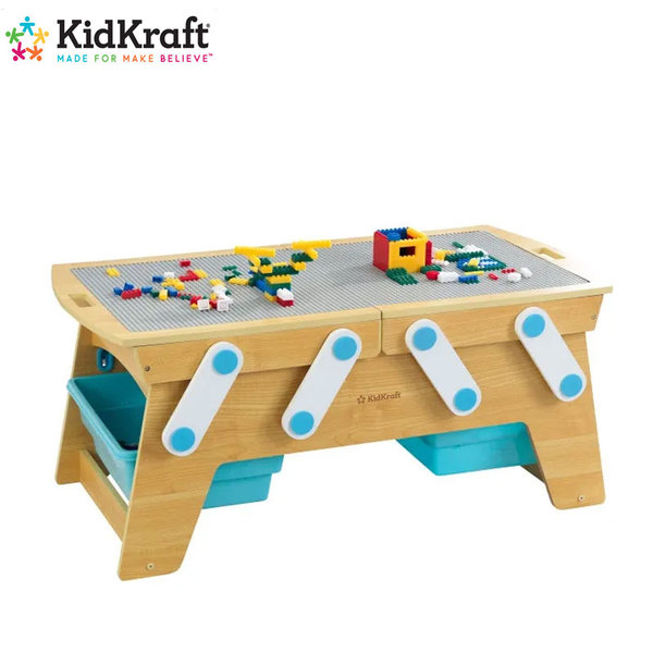 KidKraft Детска дървена игрална маса Play N Store table 17512